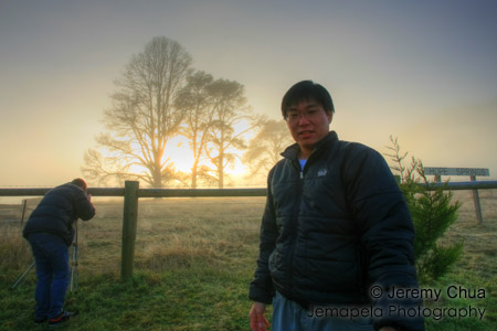 At Narbethong during sunrise doing HDR photography. This is a HDR image.